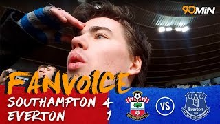 90 MIN | Everton lose again! | Southampton thrash the troubled Toffees | Soton 4 - 1 Everton