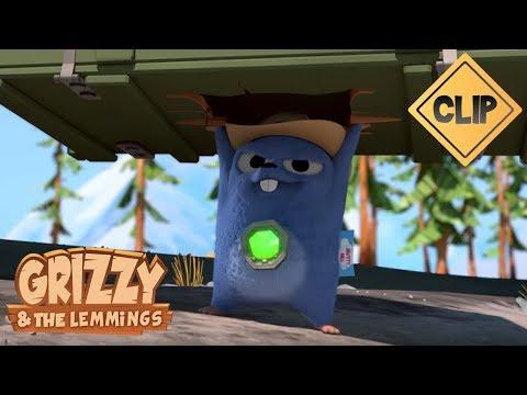 Le Super-Lemming - Grizzy et les Lemmings