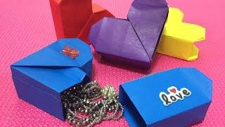 Akiko Yamanashi DIY Origami Secret Heart box Instructions Valentine