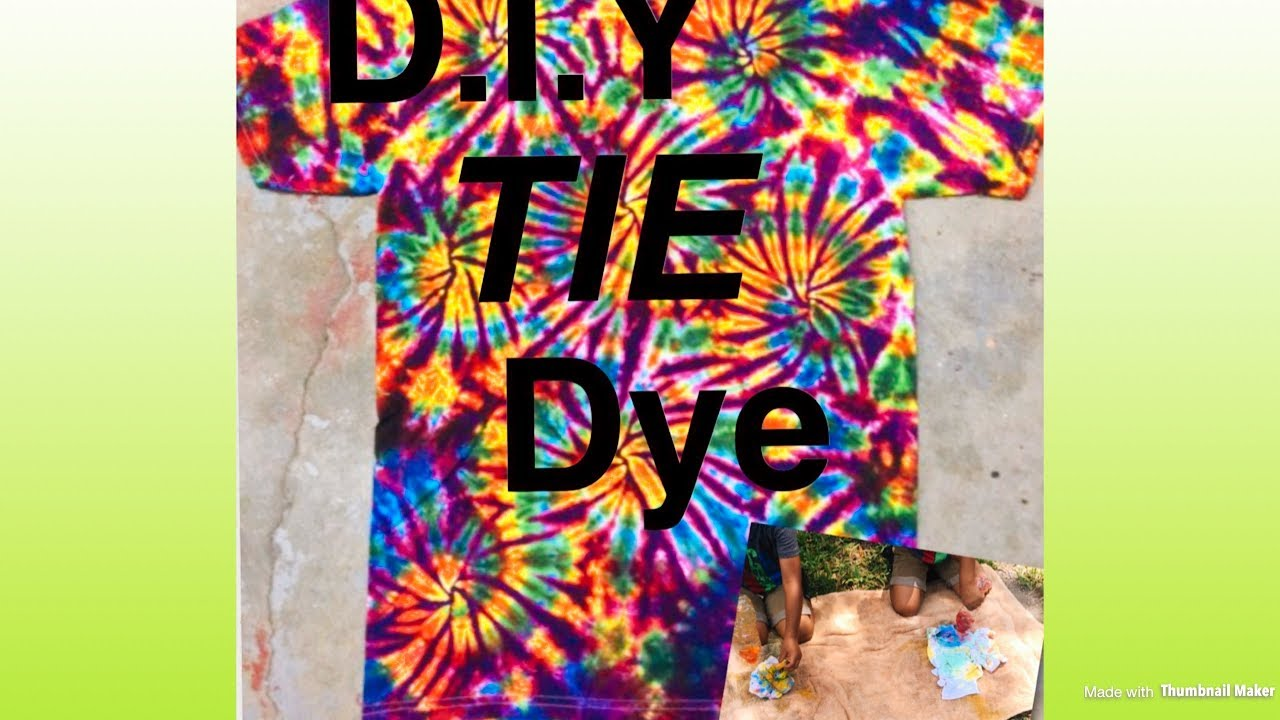 Diy tie dye shirts with food coloring do it yourself youtube diy tie dye shirts with food coloring do it yourself solutioingenieria Images