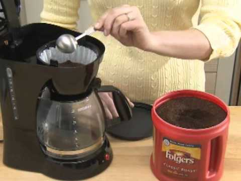 How to make coffee in a coffee maker youtube How to make coffee with a coffee maker