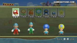 New Super Mario Bros. Wii co-op walkthrough (with commentary) Part 3