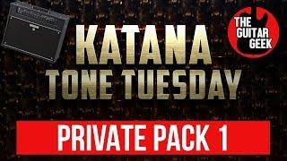 Boss Katana Free Preset - My Personal Jam Patches Part 1
