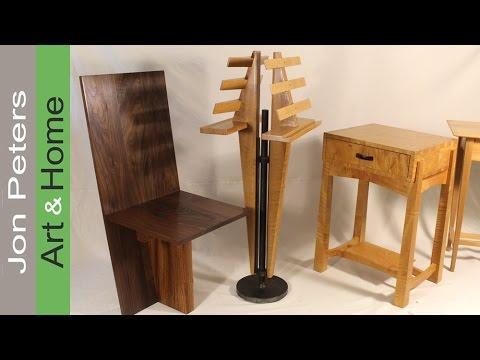 Cмотреть видео онлайн Furniture Photo shoot and a closer look at the Duet Music Stand.