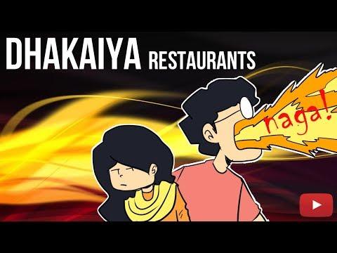 Dhakaiya Restaurants   A Cartoon Vlog By Antik Mahmud