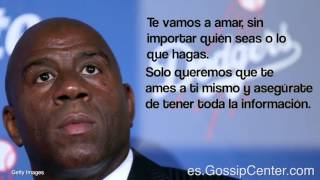 Magic Johnson Habla Sobre Su Hijo Gay
