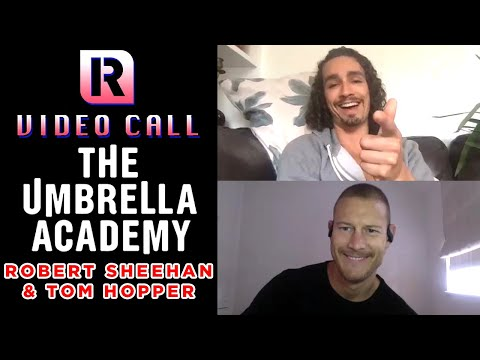 The Umbrella Academy's Robert Sheehan & Tom Hopper On Working With Gerard Way - Video Call With 'Rocksound'