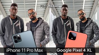 Download Pixel 4 XL vs iPhone 11 Pro Max Camera Test Comparison feat. MKBHD Mp3 and Videos