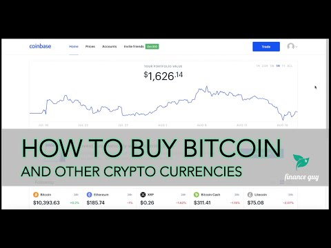 How To Buy Bitcoin On Coinbase - Step By Step Guide