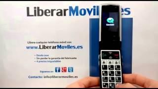 Instrucciones para liberar móvil Emporia V32. How to unlock your mobile Emporia V32