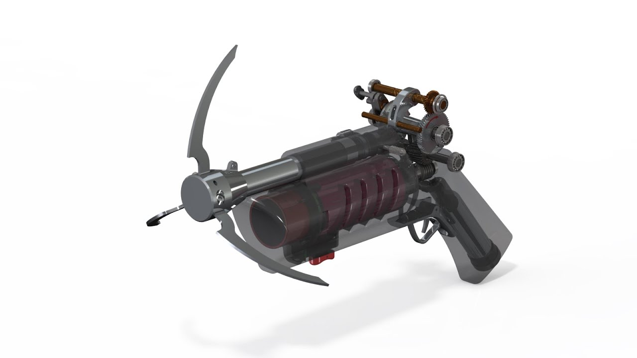 How might Batman design the iconic Grapple Gun?