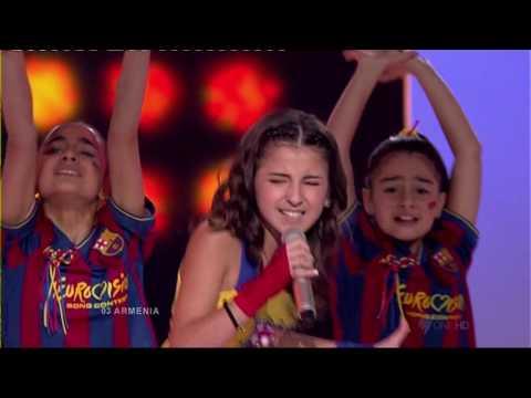 Junior Eurovision 2009: Luara Hayrapetyan - Barcelona (Armenia)