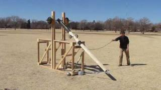 Texas Tech Floating Arm Trebuchet