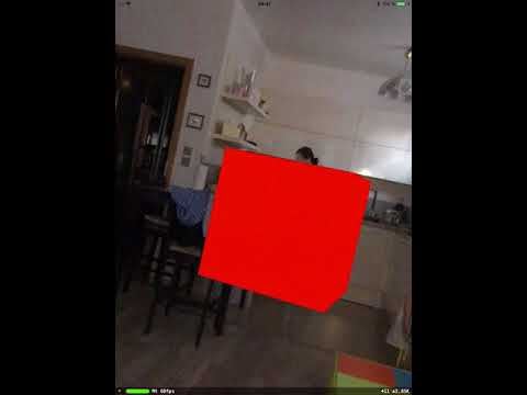 ARkit virtual object collision detection  IOS11 ARKit example