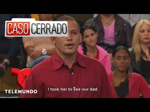 Half Brother Gets Sister Pregnant Caso Cerrado 2 Minutes Take 2 Caso Cerrado Telemundo English