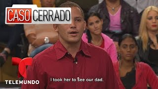 Half brother gets sister pregnant. Caso Cerrado 2 minutes –Take 2 | Caso Cerrado | Telemundo English