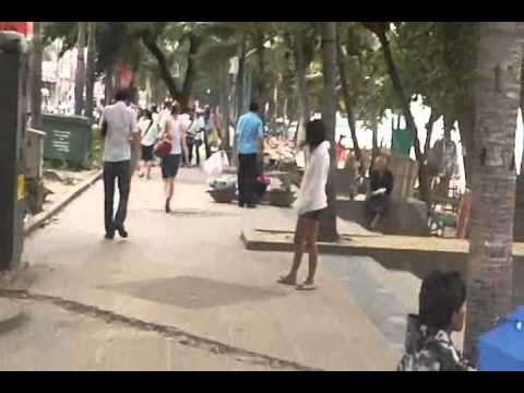 Pattaya beach road – The walking tour.