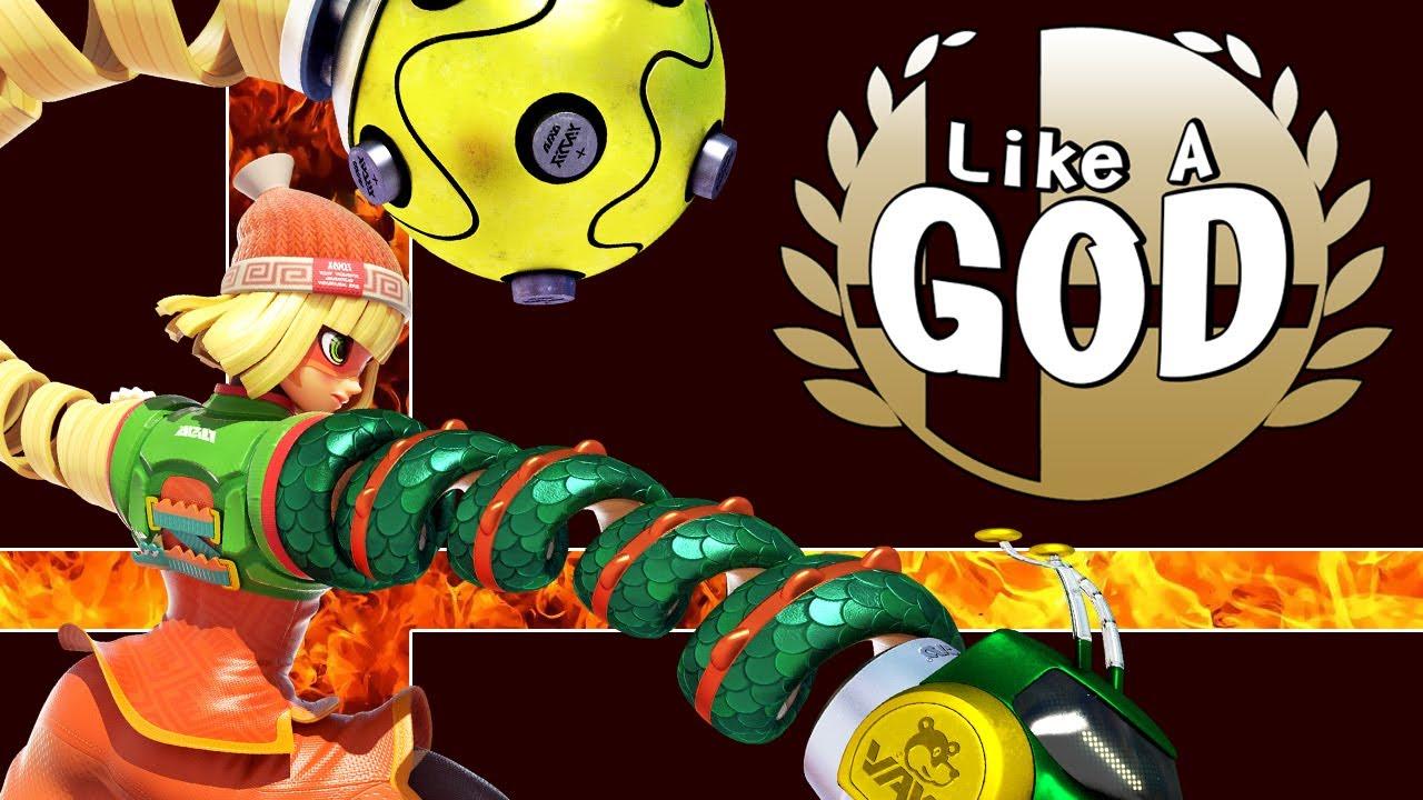 Like A GOD With MIN MIN│Super Smash Bros Ultimate Montage