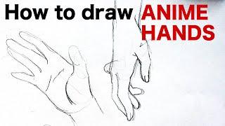 How to draw ANIME HANDS by Veteran Animator HINOE|Japanese manga tutorial|ひのえさんのアニメ風手の描き方講座