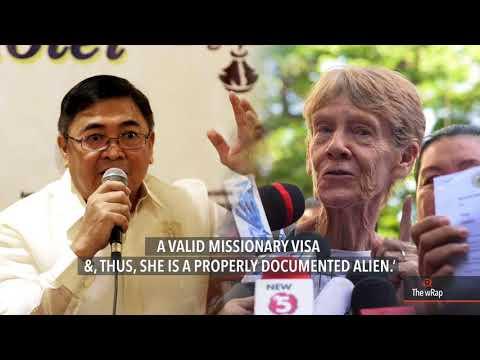 Bureau of Immigration releases Australian nun Patricia Fox