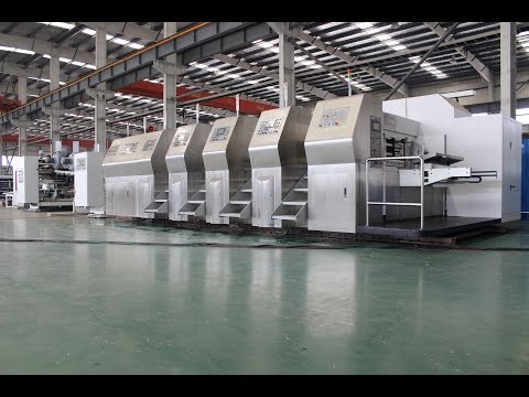 ZYKM IV(Stationary)AUTOMATIC PRINTING SLOTTING  DIE CUTTING CARTON GLUING  LINE