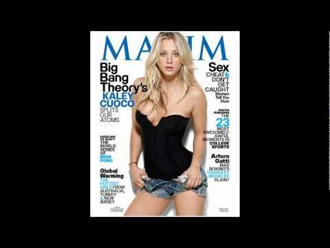 THE BIG BANG THEORY'S KALEY CUOCO IN MAXIM MAGAZINE