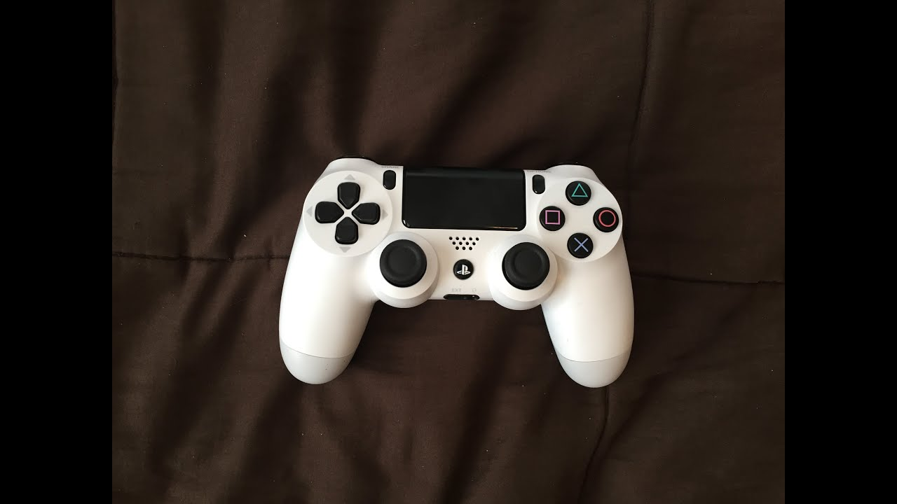 PS4 Glacier White Controller Unboxing! - YouTube