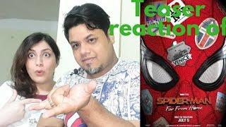 #Marvel #SPIDERMAN: FAR FROM HOME - OfficialTeaser Trailer Reaction|Foreigner VS Indian Reaction|