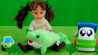 Английский для детей! Учим цвета - Зеленый