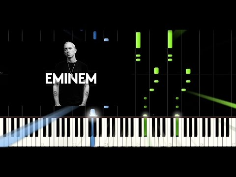 Eminem - Not Afraid - Amazing Piano Easy Tutorial / Cover - Synthesia (How To Play)