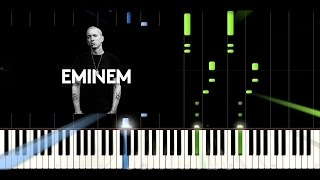 Download lagu Eminem - Not Afraid - Piano Easy Tutorial / Cover - Synthesia