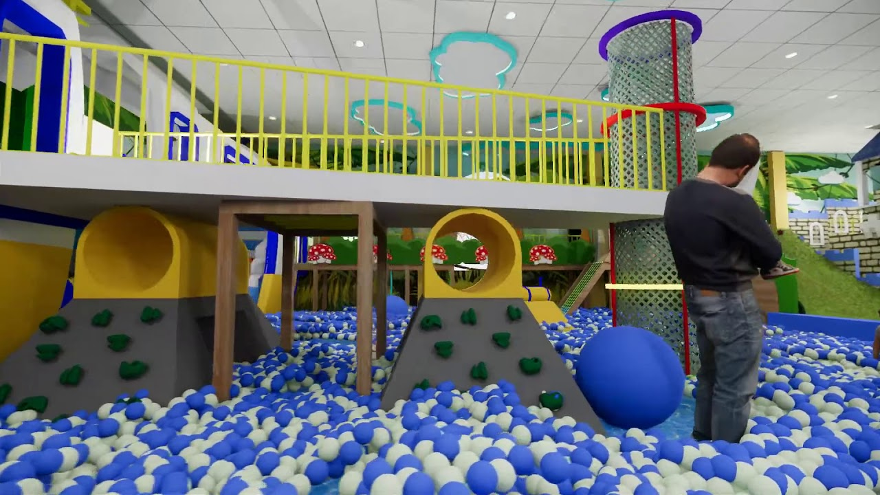Khu vui chơi trẻ em Hoàng Hùng thuộc dự án bất động sản Hoàng Hùng