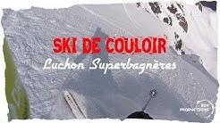 Le Céciré comme jamais - ski de pente raide - Bagnères de Luchon