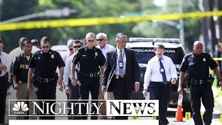 9 Injured In Houston Mass Shooting Attack; Gunman Killed By Police | NBC Nightly News