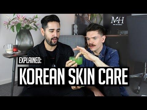 Men's Korean Skin Care Routine   10 Steps Explained!