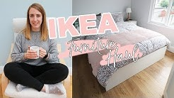 IKEA FURNITURE HAUL | Hemnes, Malm, Flekke & more! (Plus: Sneak Peak of my house!!)