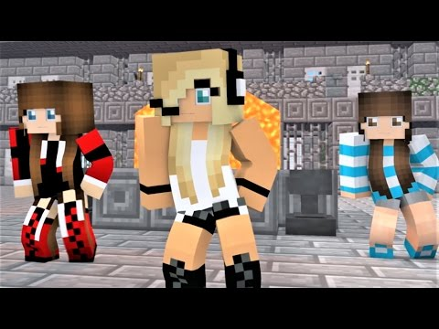NEW Minecraft Song Psycho Girl 6 - Psycho Girl Minecraft Animations and Music Video Series
