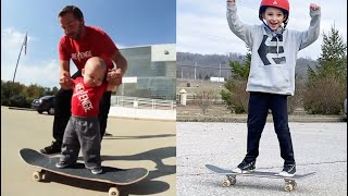 0 to 8 Years Old Skateboarding Journey!