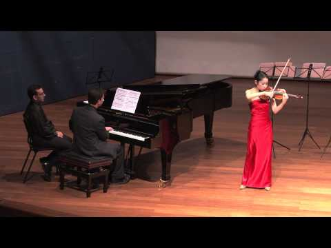 Tamaki Kawakubo performs Sarasate Zigeunerweisen at the Tel Aviv Museum of Art