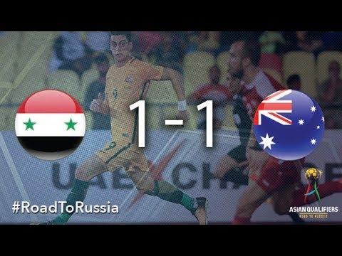 Resultado de imagem para Syria vs Australia (2018 FIFA World Cup Qualifiers)