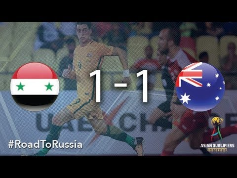 Syria Vs Australia (2018 FIFA World Cup Qualifiers)