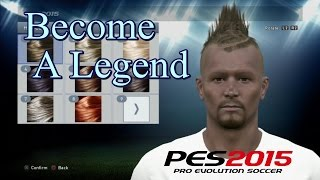 PES 2015 Become A Legend Gameplay part 1