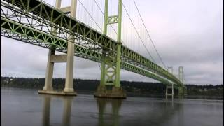 Riding Amtrak Cascades from Seattle, Washington to Portland, Oregon 04/02/2015