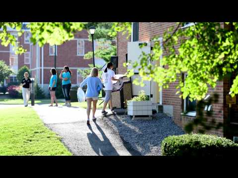 Centre College: Move-In Day 2014