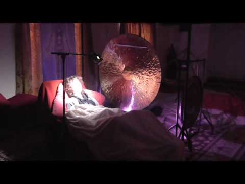Giant Wind Gong Video + Light and Sound Video Meditation/Healing