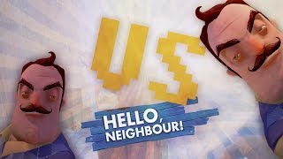 GIANT RACE REMATCH! vs KEYIN!! (Hello Neighbor Alpha 3 / Hello Neighbour Gameplay)