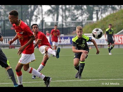 Samenvatting AZ Onder 16 - PSV | Kampioenswedstrijd