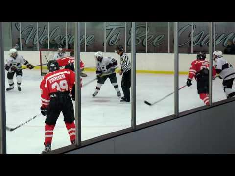 BOYS ICE HOCKEY 2016 -- High School Hockey at Bayonne High School
