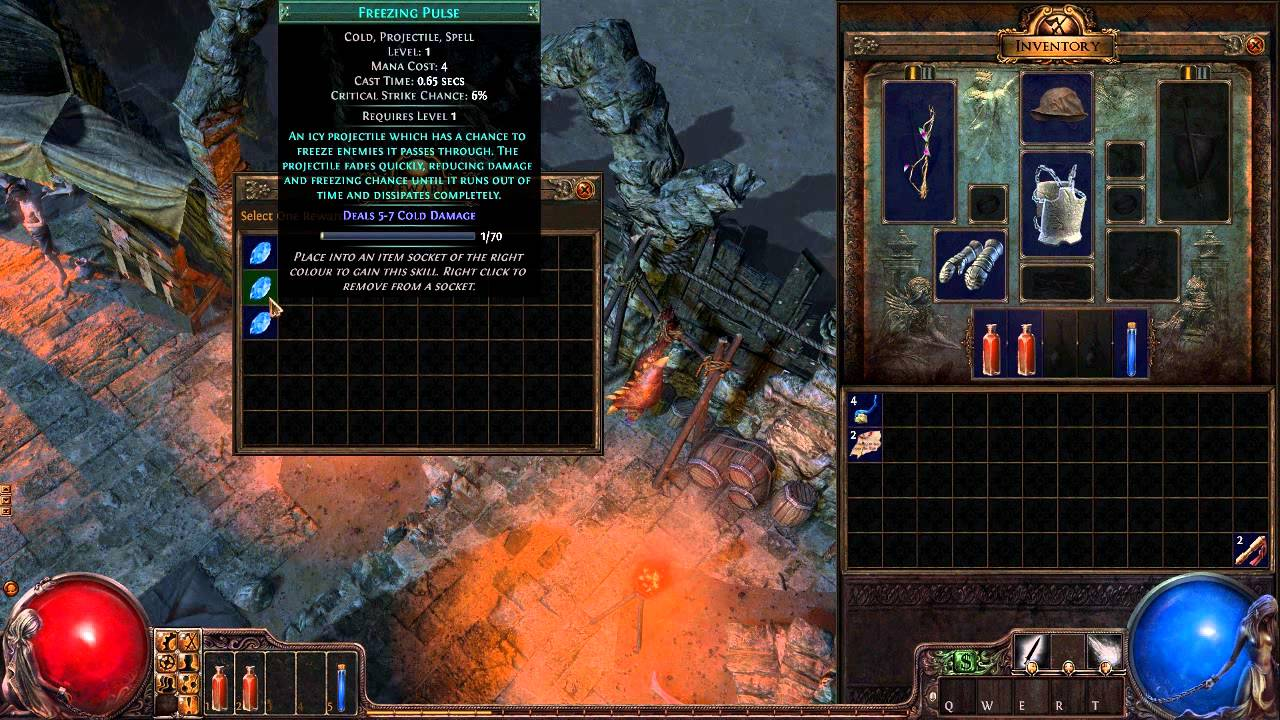 Path of Exile Gameplay - Witch leveling - Part 1 - HD PC ...