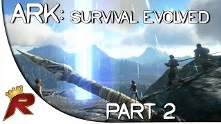 "Ark: Survival Evolved Gameplay - Part 2: ""The Rifts!"" (Early Access)"